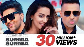 SURMA SURMA Lyrics | Guru Randhawa Song Download