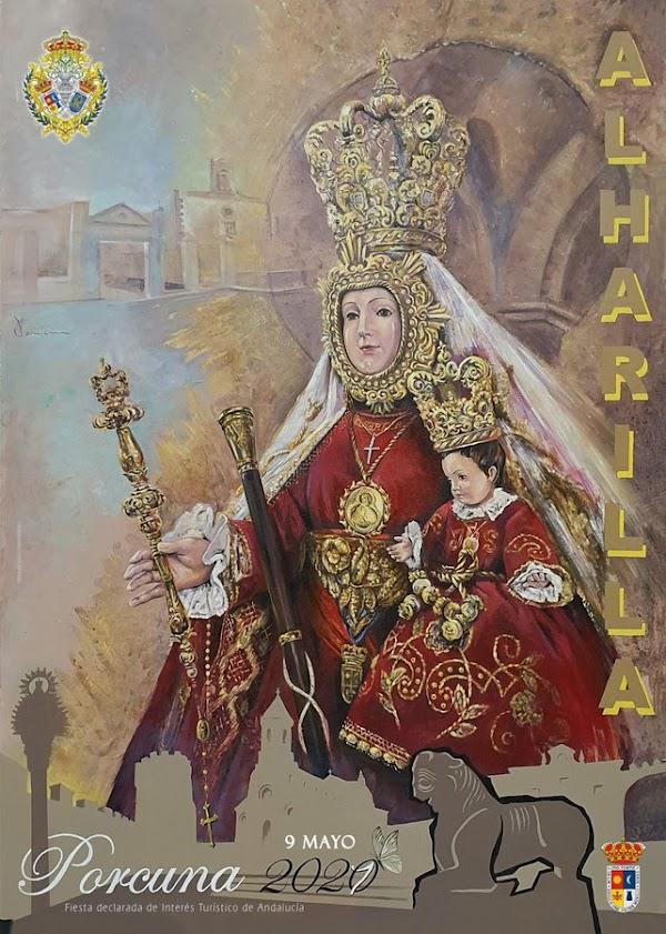 Cartel de la Romería de Ntra. Sra. de Alharilla 2021