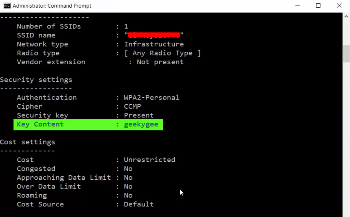 how to check computer password using cmd