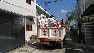 220 Rumah Disemprot 1000 Liter Disinfektan