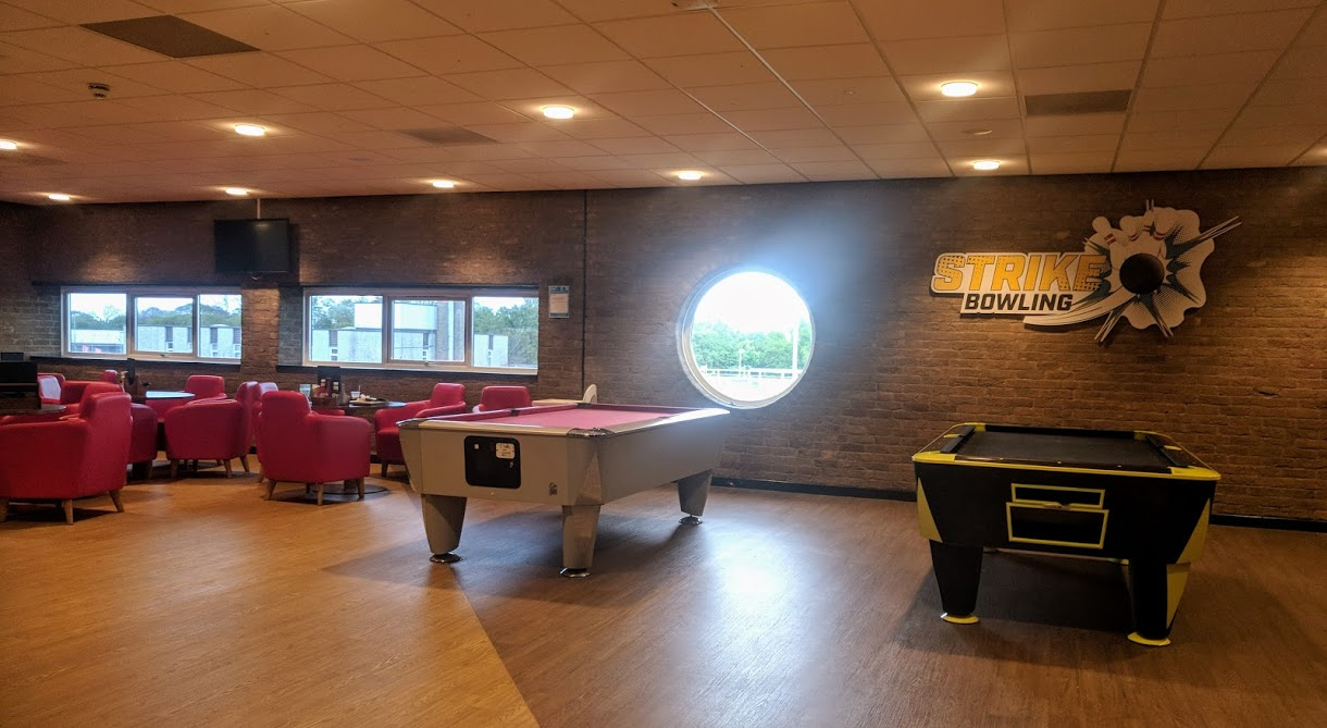 £1 Bowling at Concordia Leisure Centre, Cramlington  - pool table