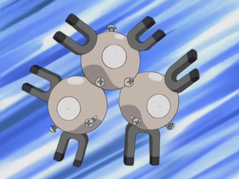 Magneton Shiny Anime Pokémon
