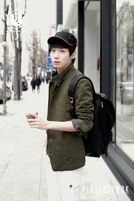 blazer cowok blazercowok.com jaket korean jas pria sk42 green d