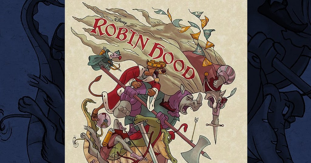 The Blot Says...: MondoCon 2019 Exclusive Disney's Robin ...