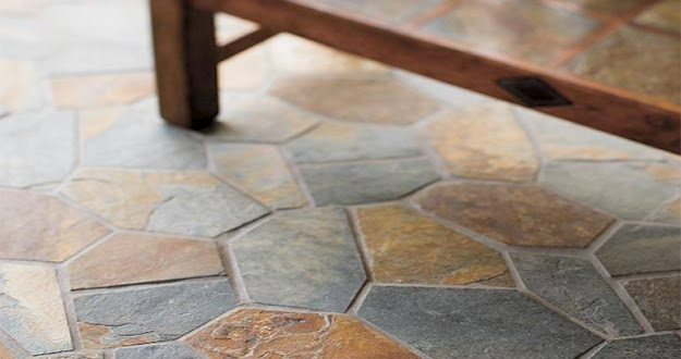 Durable floor in garage, kitchen with satisfactory Tiling