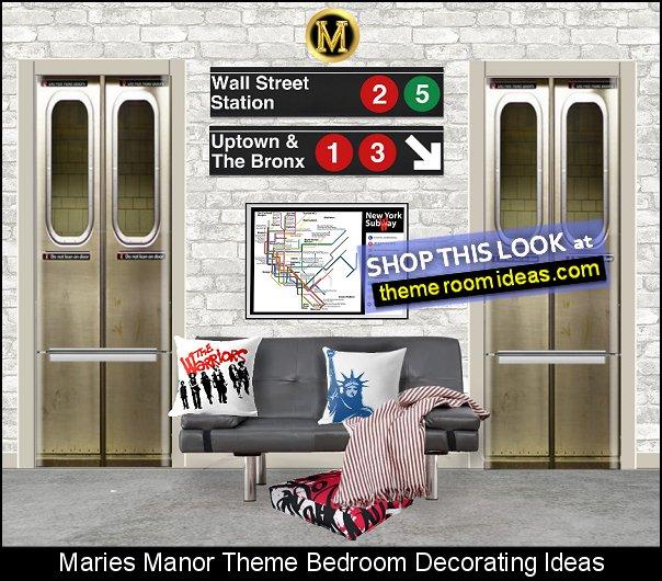 new york city subway bedroom ideas NYC subway bedrooms the warriors NYC