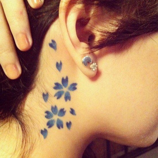 Diseños de Tatuajes El cuello y la Nuca