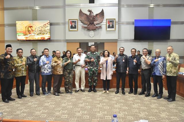 Kasum TNI Ikuti Raker Pansus Pemindahan Ibu Kota Negara