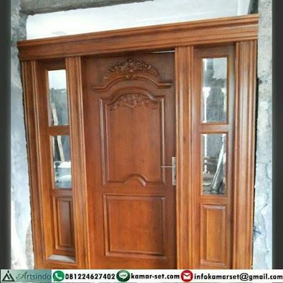 Model pintu utama rumah mewah