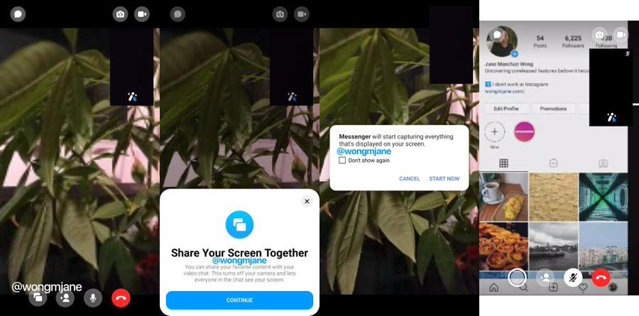 Condivisione-schermo-messenger
