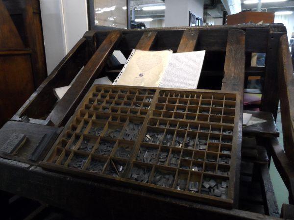 La Casse (en imprimerie)