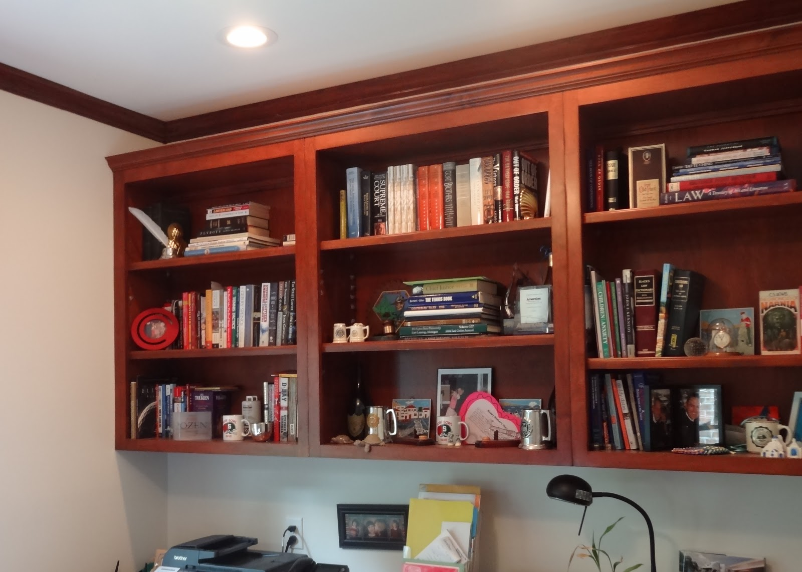 How To Make My Bookcases Look Better With Less Clutter