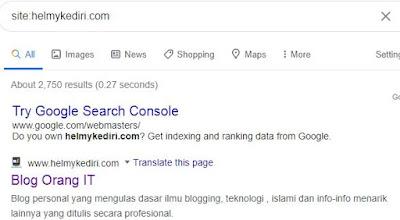 indeks google