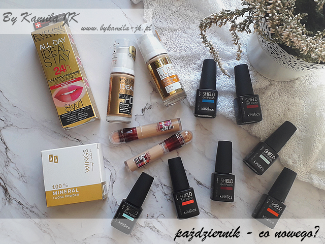 Promocja Rossmann Eveline AA Wings of color lakiery hybrydowe Kinetics Maybelline korektor Eye Eraser