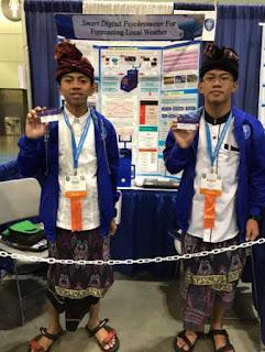 Hebat, Peneliti Muda Indonesia Raih Penghargaan di Olimpiade Penelitian Internasional
