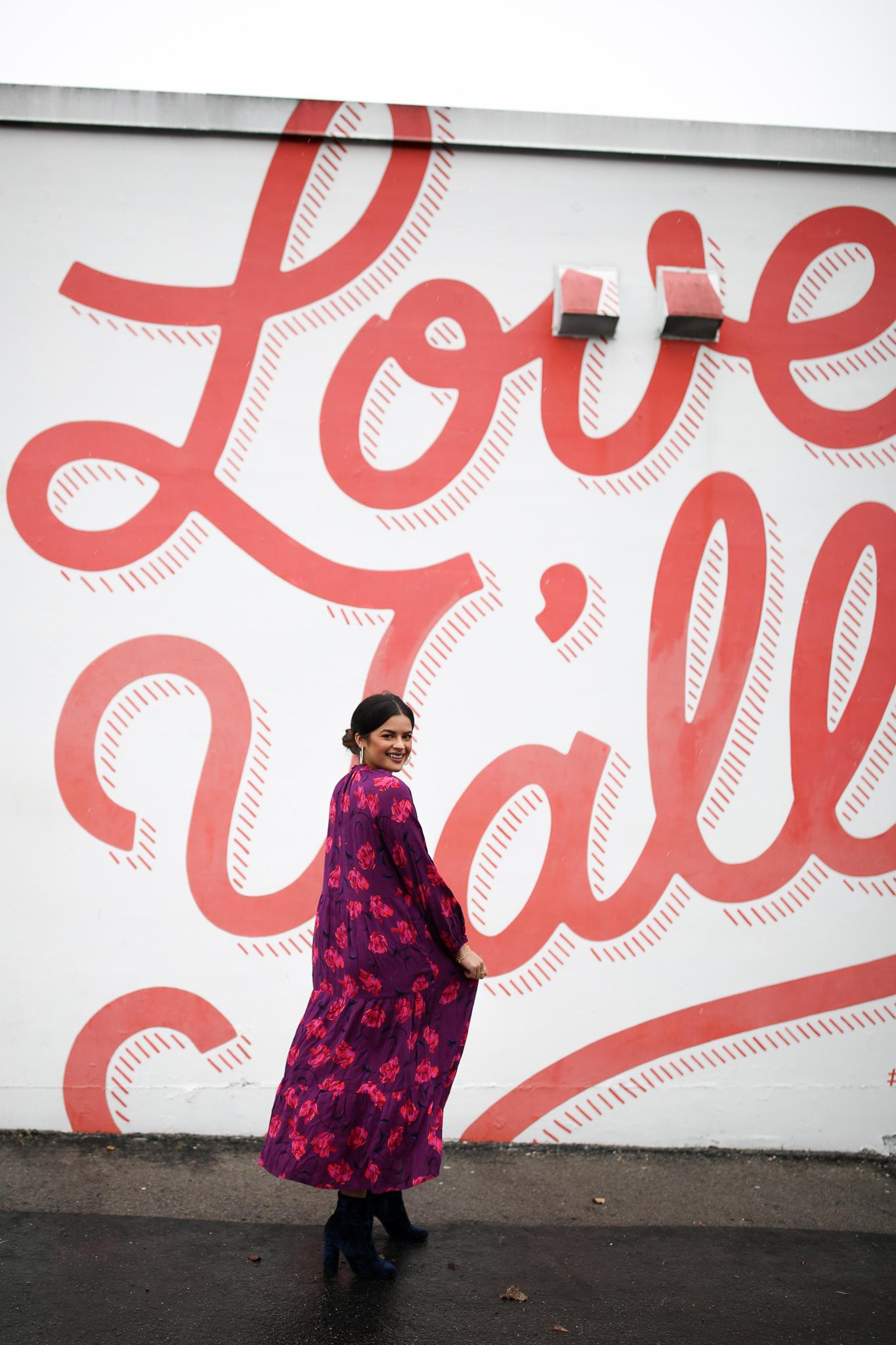 Priya the Blog, Nashville fashion blog, Nashville fashion blogger, Nashville style blog, Nashville style blogger, teddy coat, how to style a teddy coat, blue velvet booties, how to style blue velvet booties, long boho dress, Winter fashion, Winter outfit ideas,