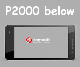 Cherry Mobile Android below 2000 pesos