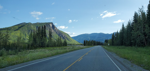 Alaska Highway British Columbia Canada
