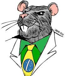 Resumo da bagaça: No Brasil, bandido bom é bandido no poder!