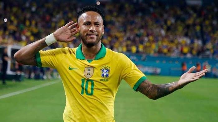 Neymar scores on return as Brazil rally for draw