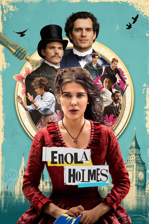 Enola Holmes (2020) 480p 720p 1080p WebRip Dual Audio (Hindi+English) | Netflix Film