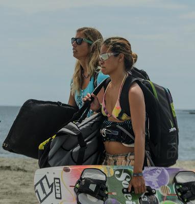 Kiteboarders Ilocos Sur Puro Beach Pinget Island Magsingal Ilocos Sur Philippines
