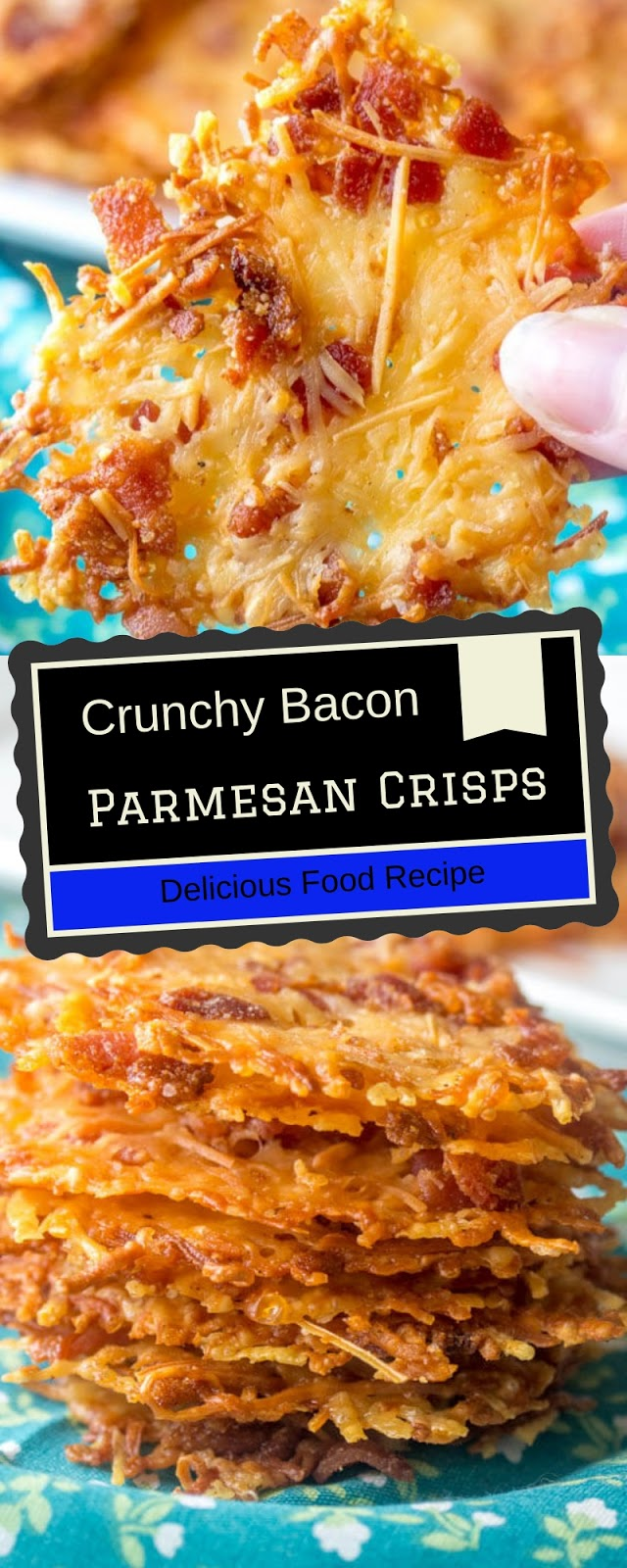 Crunchy Bacon Parmesan Crisps
