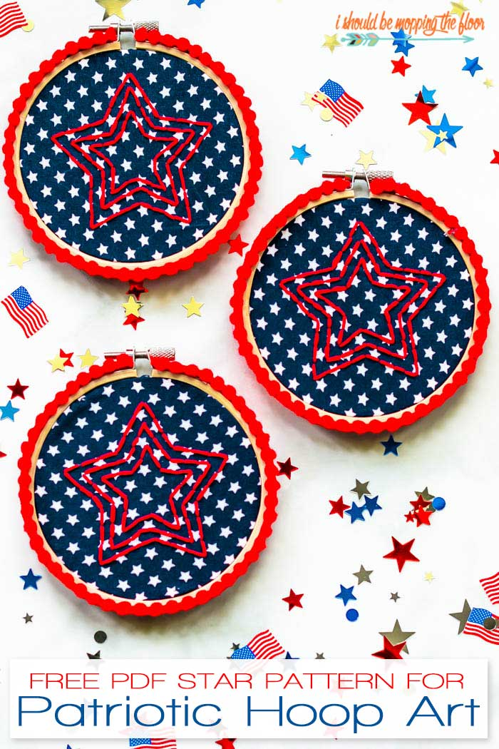 Fourth of July Embroidery