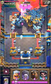 Clash Royale Mod Apk (Golemland) New Troops,spell,arena.