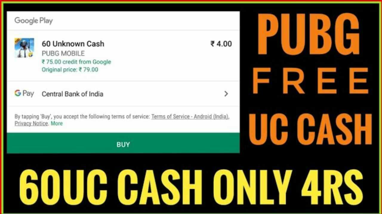 Pubg Uc Cash