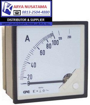 Jual Analog Panel Meter Type 0 - 75/5 A di Malang