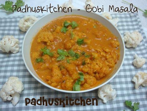 Gobi masala gobi masala recipe restaurant style recipe padhuskitchen gobi masala cauliflower masala forumfinder Images