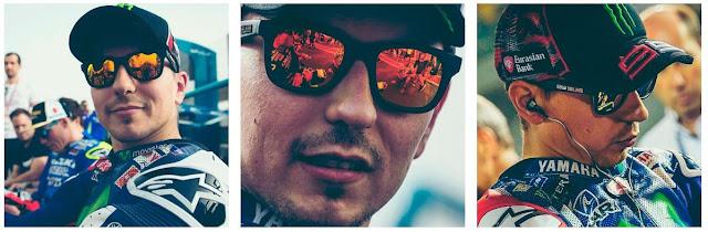 ホルヘ ロレンソさんが愛用しているサングラスって??