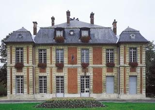 Photo du même château dans les années 90