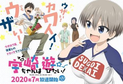 Uzaki-chan Wa Asobitai! Episódio 1