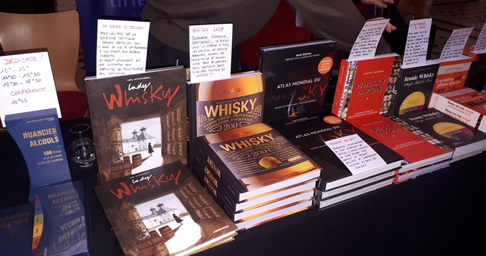 Lyon Whisky Festival 2019 - Librairie et livres dédicacés