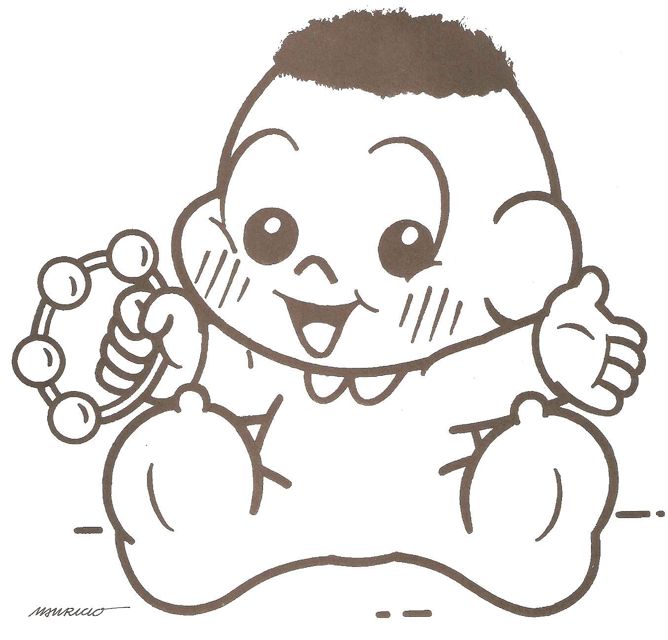 ARTES EM CORES: Desenhos Da Turma Da Mônica Baby