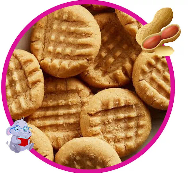 In addition, peanut is rich in calories. Each 100gr peanut contains 567 calories and is rich in vitamin B-6. Creamy delicious, soft yummy pieces of heaven will fill the water with a wonderful smell bringing everyone on the run for a warm cookie.