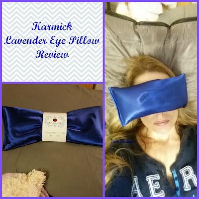 Karmick Lavender eye pillow review