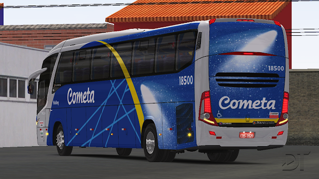OMSI 2 - Marcopolo Paradiso G7 1200 Scania K360 (4x2) e K400 (6x2)