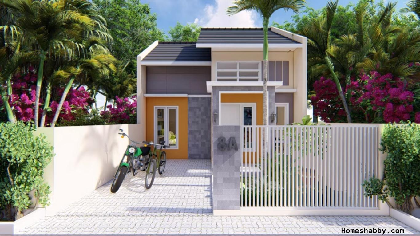 Desain dan Denah Rumah Minimalis Modern Type 40 Biaya ...