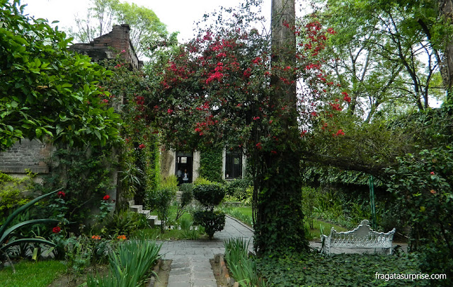 jardim do Museu Casa de Leon Trotski