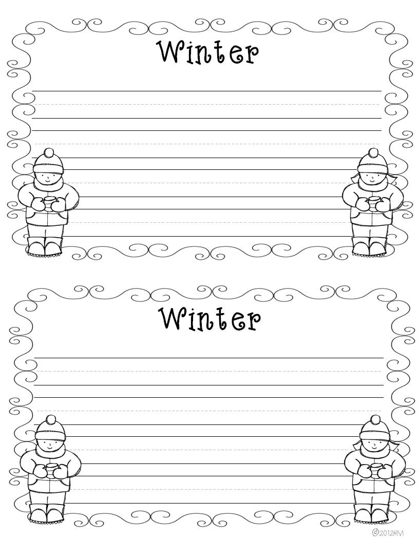 winter writing prompts for second graders winter writing prompts second grade by. Black Bedroom Furniture Sets. Home Design Ideas