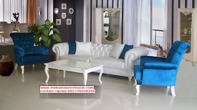 Sofa tamu Jati Klasik eropa-Furniture Jati Klasik-Furniture Klasik Mewah-Jual Sofa tamu jati Klasik eropa mewah