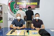 Satresnarkoba Polres Sanggau Membekuk Dua Orang Pengedar di Kembayan