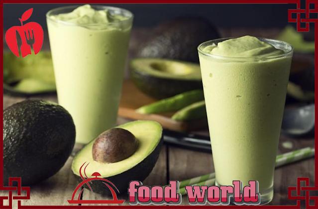 healthy Avocado juice
