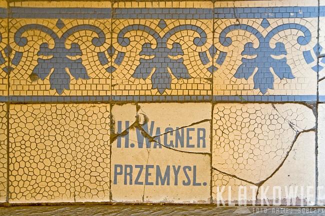 Jarosław: posadzka z wytwórni H. Wagnera z Przemyśla