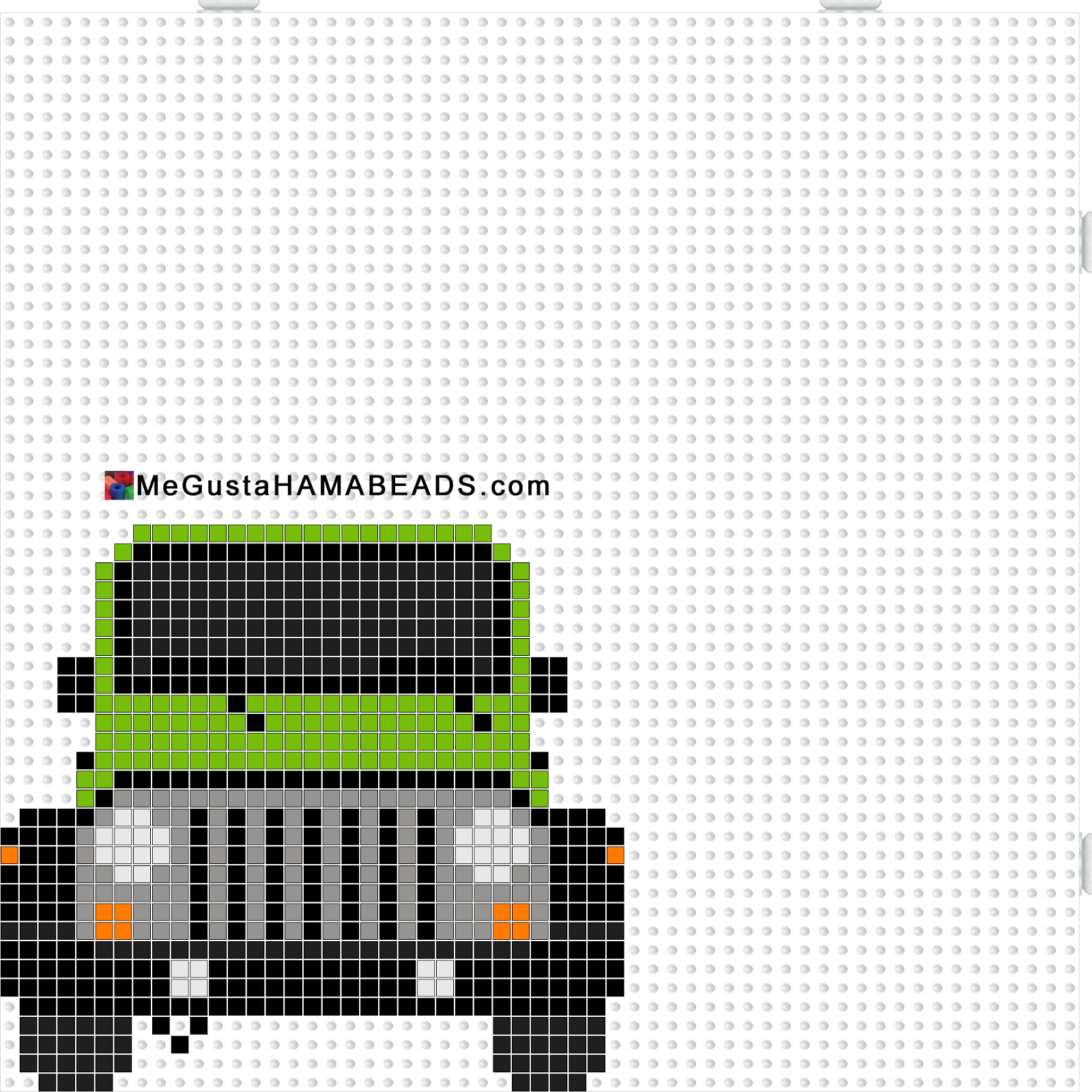 Megustahamabeads Com Hama Beads Plantillas Estelada Garfield Jeep