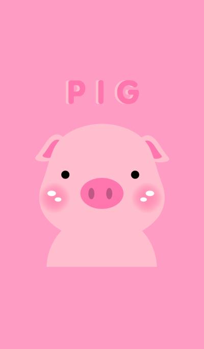 Simple Pink Pig theme v.2