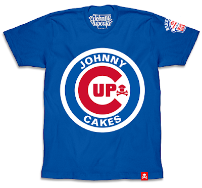 Chicago Cubs World Series Champions T-Shirt Collection by Johnny Cupcakes - Baby Bear